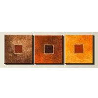 アートパネル 『ブロック』 30x30cm x 3枚組