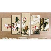 アートパネル 『白い花びらⅢ』 5枚組