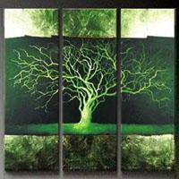 アートパネル 『枯れ木Ⅴ』 30x90cm x 3枚組