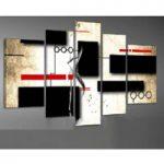 アートパネル 『幾何』 25x40cm x 2枚他、計5枚組