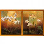 アートパネル 『静物・花』 40x50cm x 2枚組