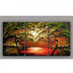 アートパネル 『松と海』 40x70cm x 3枚組