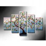 アートパネル 『生命の樹Ⅳ』 30x50cm他、5枚組