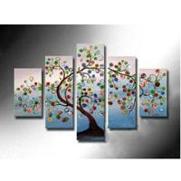 アートパネル 『生命の樹?』 30x50cm他、5枚組