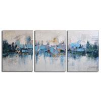アートパネル 『湖畔Ⅱ』 40x50cm x 3枚組