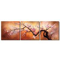 アートパネル 『梅Ⅲ』 50x50cm x 3枚組