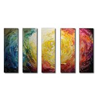 アートパネル 『色彩Ⅱ』 25x75cm x 5枚組