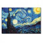 アートパネル ゴッホ『星月夜Ⅲ(ビッグサイズ)』 100x150cm x 1枚