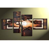 アートパネル 『松の木』 40x50cm x 1枚ほか、計4枚組