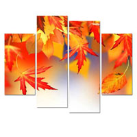 アートパネル 『秋の訪れ』 30x60cm x 2枚他、計4枚組