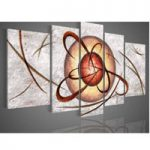 アートパネル 『白い宇宙』 25x40cm x 2枚他、計5枚組
