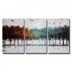 アートパネル 『林野』 40x60cm x 3枚組