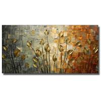 アートパネル 『草花』 150x75cm x 1枚