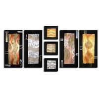 アートパネル 『装飾Ⅱ』 30x70cm他、計7枚組