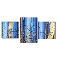 アートパネル 『線と色Ⅱ』 40x60cm他、3枚組