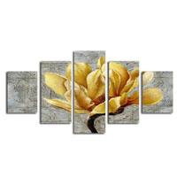 アートパネル 『蘭の花びら』 30x80cm他、5枚組