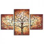 アートパネル 『生命の樹Ⅹ』 40x50cm x 4枚組