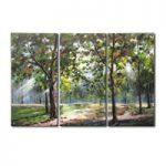 アートパネル 『樹林』 30x60cm x 3枚組
