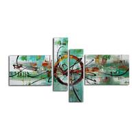 アートパネル 『機械文明Ⅲ』 20x70cm他、4枚組
