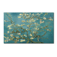 アートパネル ゴッホ『花咲くアーモンドの枝(ビッグサイズ)』 100x150cm x 1枚 模写 大型 お店のディスプレイ
