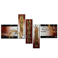 アートパネル 『文様Ⅱ』 40x50cm x 2枚他、計5枚組
