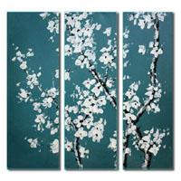 アートパネル 『白桜Ⅱ』 30x90cm x 3枚組