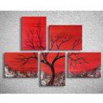 アートパネル 『枯れ木Ⅳ』 30x40cm x 5枚組