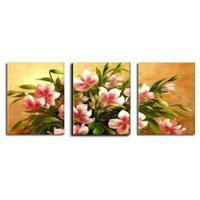 アートパネル 『赤い花びらⅨ』 40x60cm x 3枚組