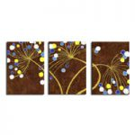 アートパネル 『胞子Ⅳ』 40x60cm x 3枚組