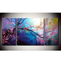 アートパネル 『桜』 30x60cm、2枚組他、計3枚 サクラ