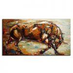 アートパネル 『雄牛/ブル』 80x160cm x 1枚