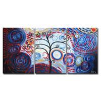 アートパネル 『踊る木Ⅴ』 40x60cm x 3枚組