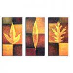 アートパネル 『葉Ⅱ(リーフ)』 30x60cm x 3枚組
