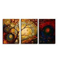 アートパネル 『踊る木Ⅹ』 40x60cm x 3枚組