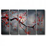 アートパネル 『梅の木Ⅳ』 30x90cm x 5枚組