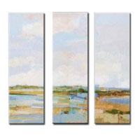 アートパネル 『湖畔Ⅳ』 30x90cm x 3枚組