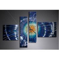 アートパネル 『飛沫Ⅱ』 20x80cm x 2枚他、計4枚組