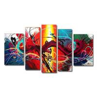アートパネル 『龍Ⅱ』 25x80cm他、5枚組