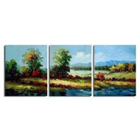 アートパネル 『自然のある風景』 40x50cm x 3枚組