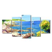 アートパネル 『夏の海』 30x80cm他、計5枚組