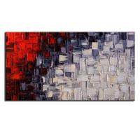 アートパネル 『赤・黒・白』 70x140cm x 1枚