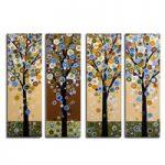 アートパネル 『幸福の木Ⅲ』 20x70cm x 4枚組