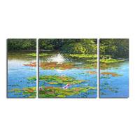 アートパネル 『湖面』 60x60cm他、計3枚組