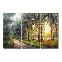 アートパネル 『林道』 30x60cm x 3枚組
