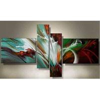 アートパネル 『流動Ⅱ』 20x80cm、2枚他、計4枚組