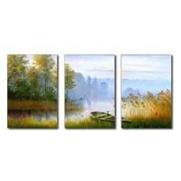 アートパネル 『湖畔Ⅴ』 40x60cm x 3枚組