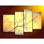 アートパネル 『桜の花』 30x40cm他、計4枚組