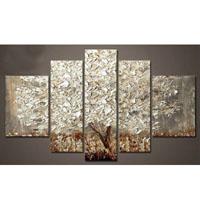アートパネル 『銀の木』 25x40cm x 2枚他、計5枚組