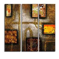 アートパネル 『抽象Ⅱ』 30x90cm x 3枚組