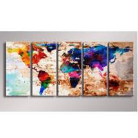 アートパネル 『世界』 25x60cm x 5枚組